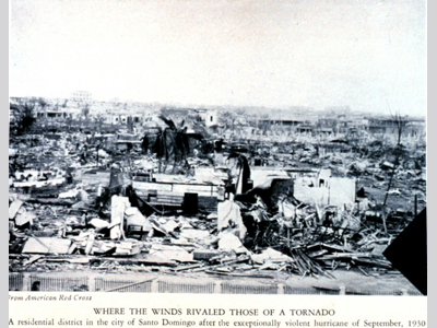 hurricanes science and society 1930 dominican republic hurricane