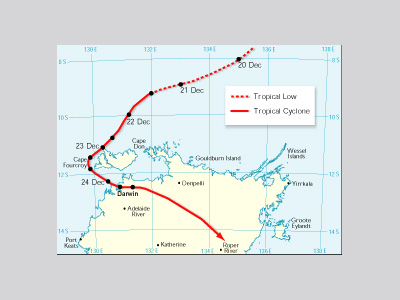 Hurricanes Science and Society 1974 Cyclone Tracy