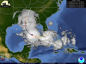 How did hurricane katrina form