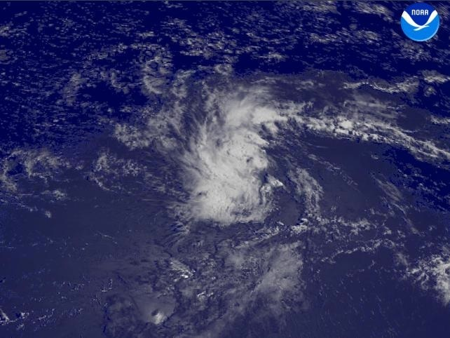 image of tropical depression 6
